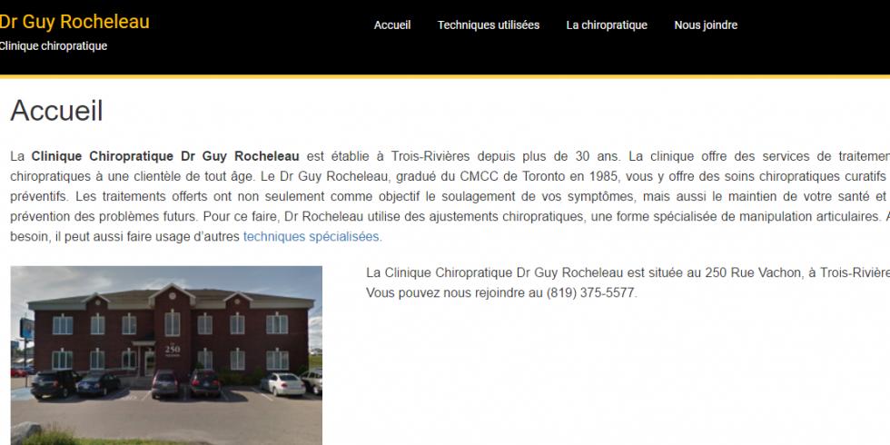 Dr Guy Rocheleau